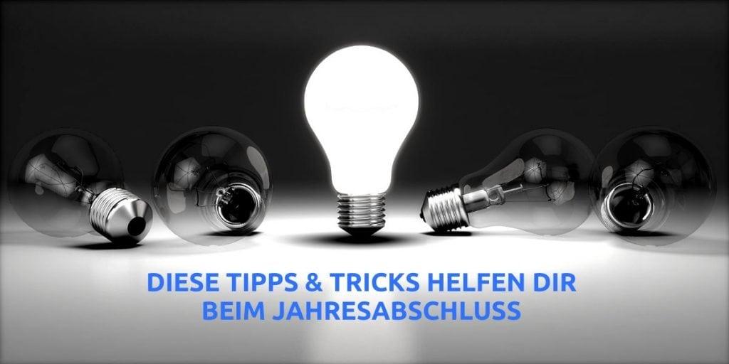 Der Jahresabschluss - Tipps und Tricks orbnet blog text image