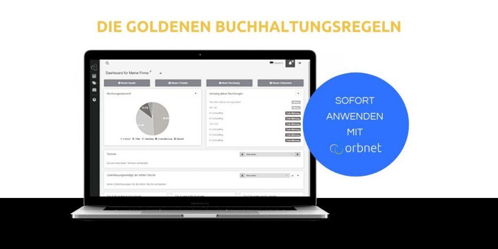 Die goldenen Buchhaltungsregeln - sofort mit orbnet anwenden orbnet blog text image