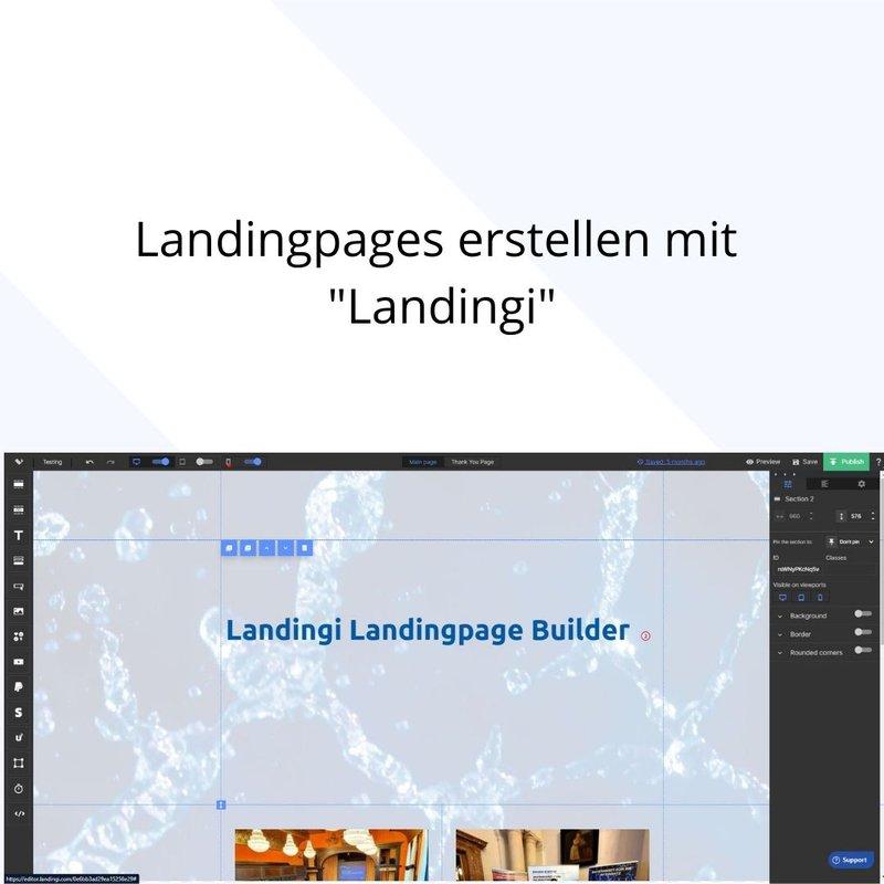 Landingpage erstellen mit Landingi
