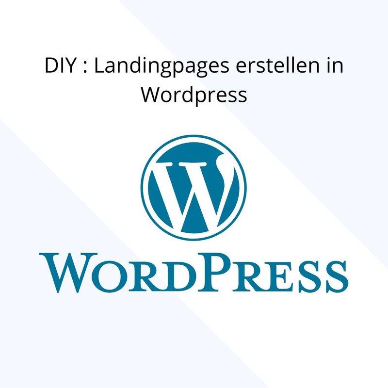 landingpages in wordpress